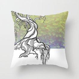 Ancient Life Throw Pillow