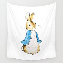 Peter Rabbit standing still Wall Tapestry