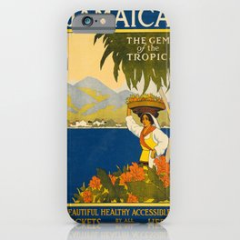 Vintage poster - Jamaica iPhone Case