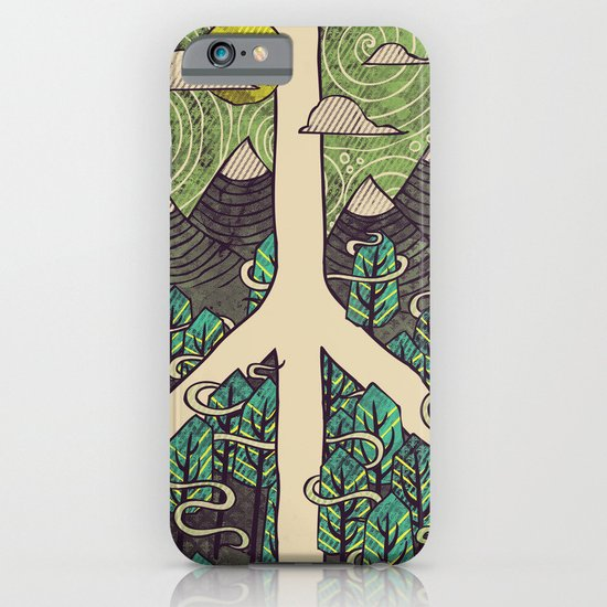 Peaceful Landscape iPhone & iPod Case