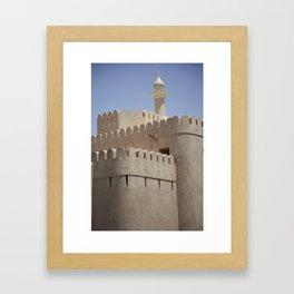 Arabian Castle Framed Art Print