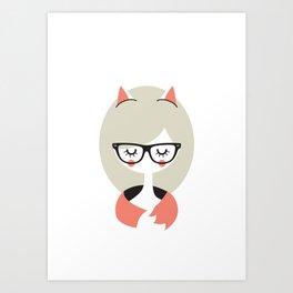 Call me Foxy! Art Print