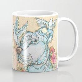 Peaceful Pitbull Coffee Mug