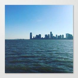 NYC x NJ Riverscape Canvas Print
