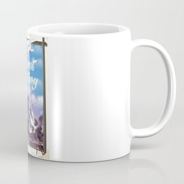 Mount Whitney vintage Travel poster Coffee Mug