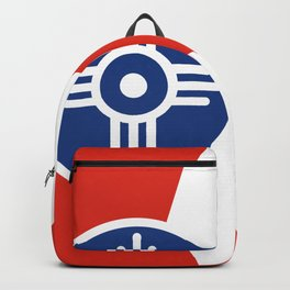 Flag of Wichita, Kansas Backpack