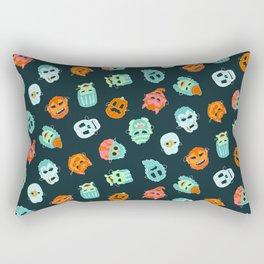 Halloween Mask Pattern Rectangular Pillow