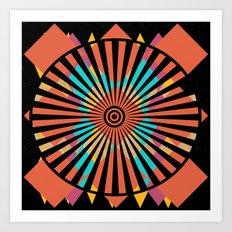 Hot Wheel Art Print