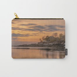 Spring Plum cove Sunset Carry-All Pouch