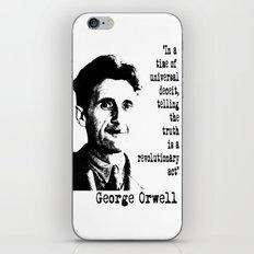George Orwell iPhone & iPod Skin