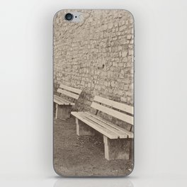 Saving a Seat for You iPhone Skin