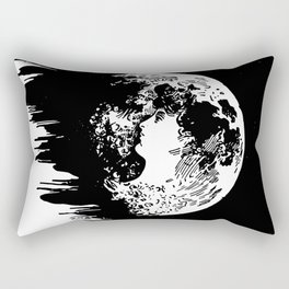 Miss Moon Rectangular Pillow