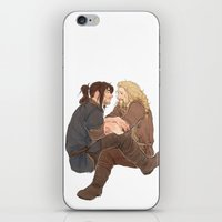 kili iPhone & iPod Skins featuring fili&kili by Ronnie