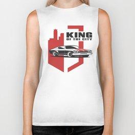 Muscle Car - the king Biker Tank