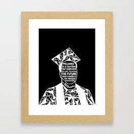 Michael Brown - Black Lives Matter - Series - Black Voices Framed Art Print