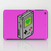 gameboy iPad Cases featuring Gameboy Love by Artistic Dyslexia