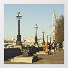 London Thames Canvas Print
