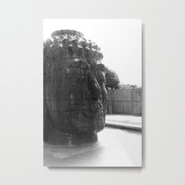 Clarity of the mind Metal Print