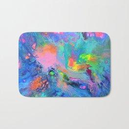 Fusion - Fluid Abstract Art Bath Mat
