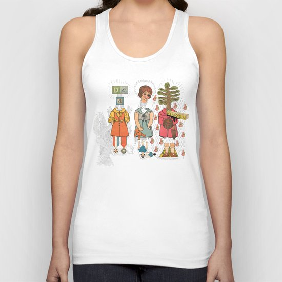 Silly Girls Unisex Tank Top