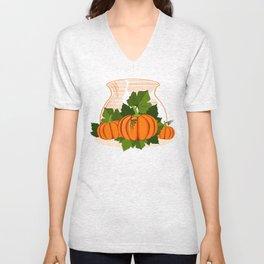 C13D Its Pumpkin Time Unisex V-Neck