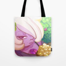 Chilling with Amethyst Tote Bag