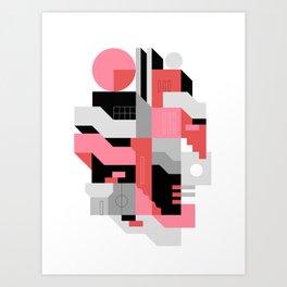 Architecture IV Art Print