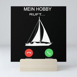 My Hobby Is Calling Mini Art Print