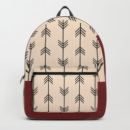 RED ARROW PATTERN Backpack