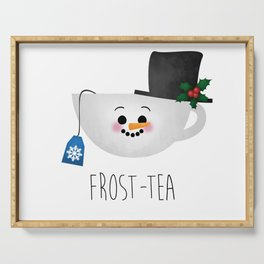 Frost-tea Serving Tray
