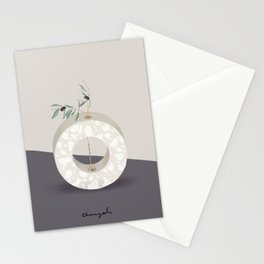 Vase O Olive Stationery Cards