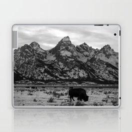Bison and the Tetons Laptop & iPad Skin