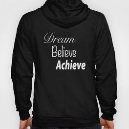 Dream Believe Achieve Ultra Violet Hoody