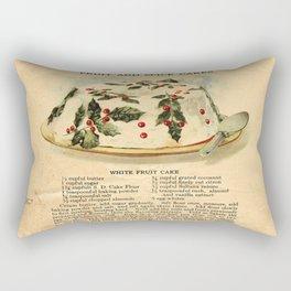 Fruit Cakes - Vintage Rectangular Pillow