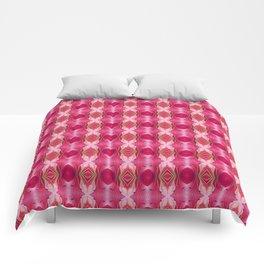 Pink Blast Floral Comforters