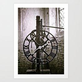 Ten past eight Art Print