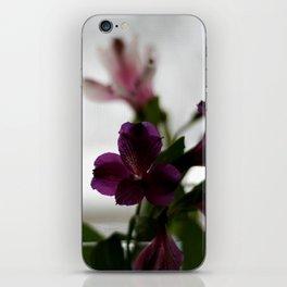 alstroemeria iPhone Skin