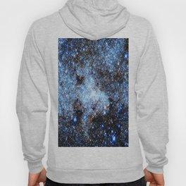 Blue gAlaxY Sparkle Stars Hoody