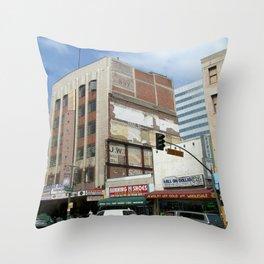 6th Street Throw Pillow