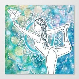 dancer mandalalalala Canvas Print