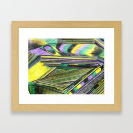 A bus to heaven Framed Art Print