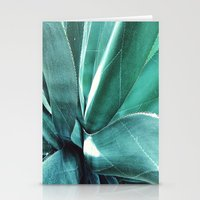 cactus Stationery Cards featuring Cactus by Alexandra Str