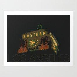 Eastern Columbia Building Los Angeles, California Art Print