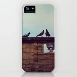 Birds Up Top iPhone Case