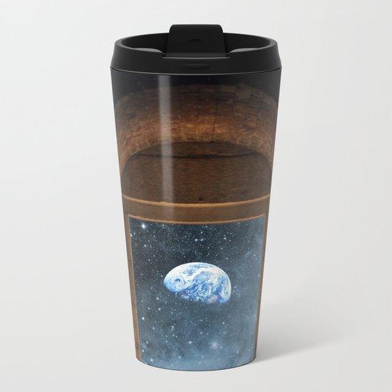 DOOR TO THE UNIVERSE Metal Travel Mug