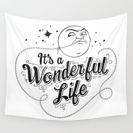 It's a Wonderful Life - Title Wall Tapestry