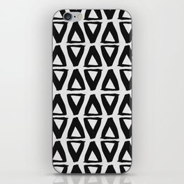 Black and White Abstract II iPhone Skin