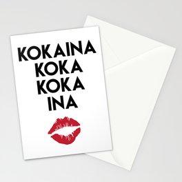 KOKAINA KOKA KOKA INA - Miami Yacine Lyrics Stationery Cards