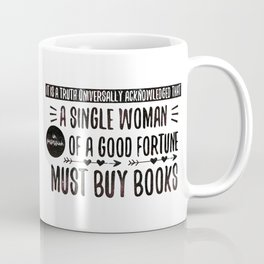 Jane Austen's Office Coffee Mug