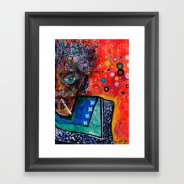 Olt Framed Art Print